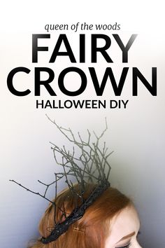 Halloween DIY Fairy Crown, become the queen of the woods with this easy DIY. By … Halloween DIY Fairy Crown, become the queen of the woods with this easy DIY. By Jessica Andersdotter. Casa Halloween, Halloween 2016, Halloween Crafts, Halloween Makeup, Halloween Decorations, Halloween Costumes, Adornos Halloween, Halloween Disfraces, Fairy Costume Diy