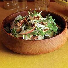 Apple-Fennel Salad with Walnuts Recipe   MyRecipes.com