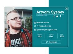 Artyom Sysoev on Behance