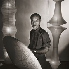 Isamu Noguchi, New York,  1955 by Louise Dahl-Wolfe