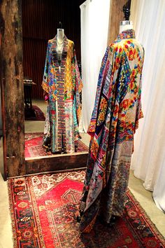 One-of-a-kind Silk Kimono at the Johnny Was Santa Monica Place store