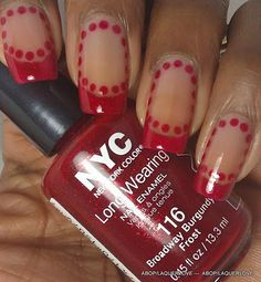 I love simple but special manicures :)