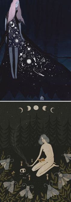 Illustratios by Alexandra Dvornikova / On the Blog!