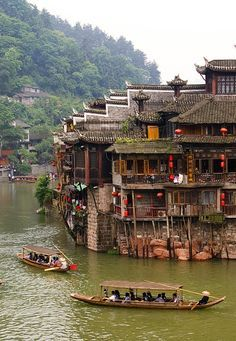 Fenghuang Ancient Town, China china 25 of the Most Beautiful Villages in the World Beautiful World, Beautiful Places, Places To Travel, Places To Visit, Travel Destinations, Asian Architecture, Architecture Office, Futuristic Architecture, Visit China