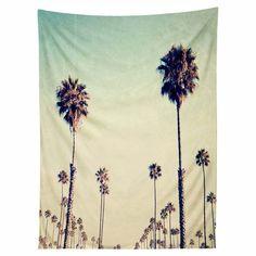 DENY Designs Bree Madden California Palm Trees Wall Tapestry - 50568-TAPMED