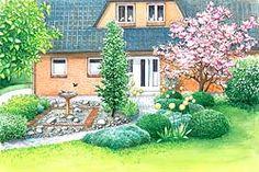 Vom Rasen zum Landhausgarten | Schöne gärten, Gärten und Schöner