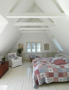 Attic turned in to a guest bedroom!!