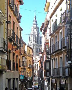 Gothische Kathedrale in Toledo  Spanien