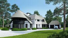 Nieuwbouw project Blaricum villa door architectenbureau Kabaz