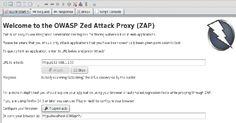 OWASP ZAP released: pentesting tool for finding vulnerabilities in web applications Digital Certificate, Cyber Attack, Web Application, Toolbox, Vulnerability, No Response, Encouragement, Range, Amazing