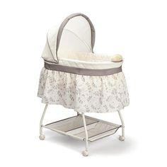 Baby Delta Children Deluxe Sweet Beginnings Bassinet Nursery Furniture Turtle Dove