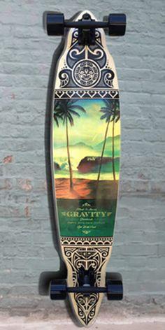 "Longboards USA - Longboard Pintail Gravity 45"" - Tres Palmas - Complete, $171.85 (http://longboardsusa.com/longboards/longboard-pintail-gravity-45-tres-palmas-complete/)"