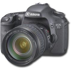 Mi primera reflex digital que vendí hace algún tiempo: Canon EOS 7D. Le extraño! Sniff