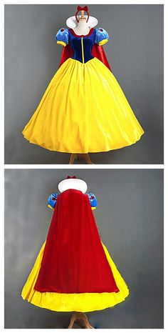 Snow white's costume, wow! elegant~