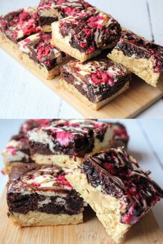 This Raspberry Protein Brownie Cheesecake Blondie has combined all of your favourites to make one delicious dessert! PLUS, we've taken out all of the nasties and made it a guilt free treat.  #cheesecake #blondies #brownies #raspberry #healthybrownie #recipe #healthyrecipe #healthybaking #cheesecakeblondies #healthyeating #healthyliving #proteinbrownies #highprotein