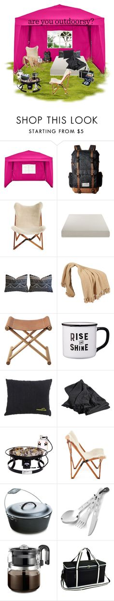 """""""Go camping"""" by britt-catlynne-weatherall on Polyvore featuring Kavu, Texas Rover Company, Serena & Lily, HAY, Camp Chef, Lodge, GSI Outdoors and Picnic at Ascot"""