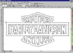 Harley Davidson Logo Stencil | If you were able to find our web site, you probably have the necessary ...: