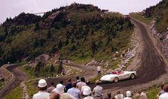 1959 Corvette hill climb