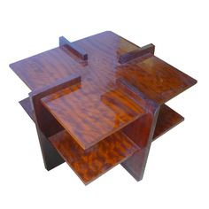 art deco modernist coffee table in burl art deco style furniture occasional coffee