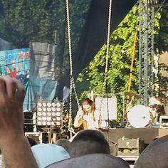 Foto z koncertu Ewy Farnej na scenie pod ratuszem podczas Dni Głogowa 2016   Głogów, 05.06.2016 r.
