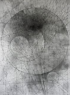 Emma McNally .  graphite on paper  Sacred Geometry <3
