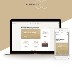 INSELLER Online Luxury Shop on Behance