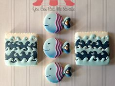 Fish and sea cookies  You Can Call Me Sweetie