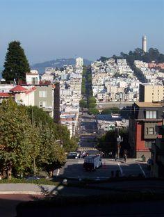 San Fran Lombard Street (Windy Road)