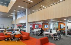 The Wentworth Institute Library required an acoustic solution that could be installed directly to its concrete ceiling and walls. SoundPly's Latus Acoustic Wall Panels and Alta Acoustic Ceiling Panels were the only viable solution. Architect: Perkins & Will Installers: American Contractors Corps. Wood Ceiling Panels, Acoustic Ceiling Panels, Concrete Ceiling, Wood Ceilings, Wentworth Institute Of Technology, Showcase Design, Architecture Design, Interior Design, Solution Architect
