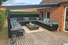 When early around strategy, your pergola have been going through a bit of a modern Pergola Patio, Backyard Patio, Diy Outdoor Furniture, Outdoor Decor, Patio Design, House Design, Scandinavian Living, New Room, Home And Living