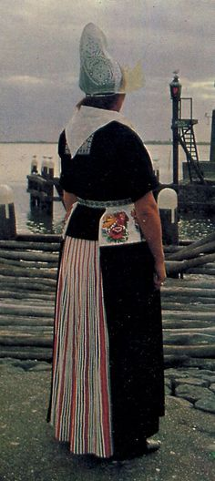 Costume of Volendam, North Holland, The Netherlands