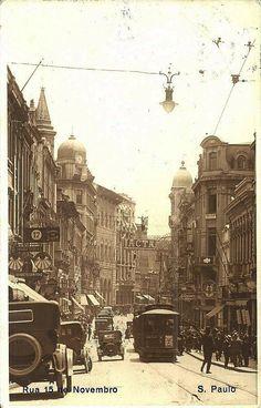 1920 - Rua 15 de Novembro - Direção a Antonio Prado - Ebay