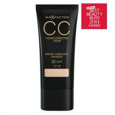 MAX FACTOR CC colour correcting cream SPF10 makiažo pagrindas spalva Natural