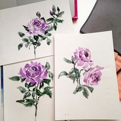 » patternbank.com/yuliyashora Purple roses #watercolor #aquarelle #watercolorpainting #watercolorflowers #drawing #inkdrawing #inksketch #watercolorsketch #sketching #handpainted #handdrawn #sennelier #art_we_inspire #textile #textiledesign #surfacedesigner #roses #flowers #bouquet #operapink #garden #textiledesigner #surfacepattern #sketch #watercolorsketch #patternbank IG: @yuliya_shora