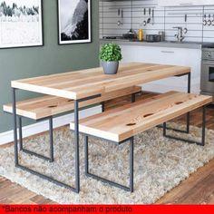 Metal Patio Furniture Diy Dining Rooms 30 Ideas For 2019 Metal Patio Furniture, Iron Furniture, Steel Furniture, Unique Furniture, Home Decor Furniture, Furniture Design, Repurposed Furniture, Furniture Stores, Pallet Furniture