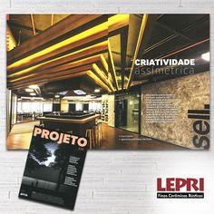 Mídia impressa - Revista Projeto destaca a Lepri na materia Criatividade Assimétrica.