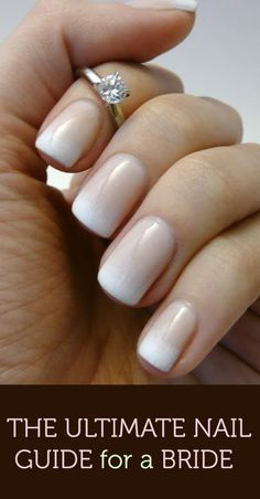 The Ultimate #Nail Guide for a #Bride http://www.mineforeverapp.com/blog/2014/02/28/the-ultimate-nail-guide-for-a-bride/