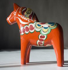 "Dalahästen"" — The Dala Horse"