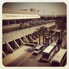 Aeroporto de Palma de Mallorca (PMI) en Palma, Islas Baleares