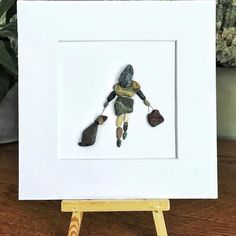 Bespoke Jewellery, Support Small Business, Box Frames, Pebble Art, Dog Walking, I Love Dogs, Art Pictures, Hand Stamped, Framed Artwork