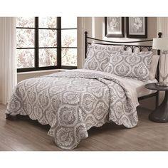 Regency 3-Piece Quilt Set - Overstock Shopping - Great Deals on Quilts