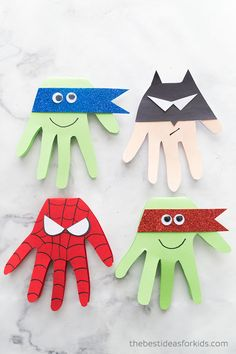 Hottest No Cost superhero Crafts for Kids Suggestions Rediscovering the reassurance of school can be quite a scary moment for just about any child. Crafts For Boys, Toddler Crafts, Projects For Kids, Diy For Kids, Fun Crafts, Craft Projects, Simple Kids Crafts, Craft Ideas, Arts And Crafts For Kids Toddlers