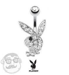 Playboy Bunny Belly Button Rings!