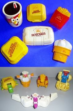 Changeables AKA McRobots | Community Post: 8 Most Memorable Old School McDonald's Happy Meal Toys