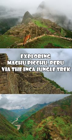 Explore Machu Picchu via the Inca Jungle Trek