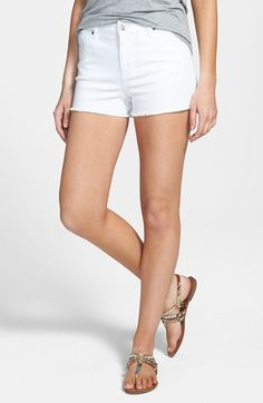 STS+Blue+High+Waist+Cutoff+Shorts+(Juniors)+available+at+#Nordstrom