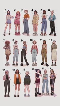 Cartoon Kunst, Cartoon Art, Cool Art Drawings, Art Drawings Sketches, Drawing Anime Clothes, Cute Art Styles, Fashion Design Drawings, Art Reference Poses, Character Design Inspiration