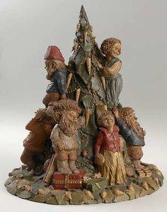 Tom Clark Tom Clark Gnomes Twas The Night Before Christma - No Box Tom Clark, Twas The Night, Forest Fairy, Santa Clause, Forest Animals, Clarks, Landscape Design, Fairies, Witch
