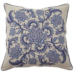 I pinned this Full Bloom Pillow from the Cindy Rinfret event at Joss and Main!