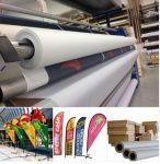 Large Format 2.5m de largura não-onda 100gsm Papel de sublimação Fast Dry para impressão Publicidade